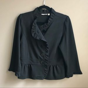 Black 3/4 sleeve Blazer